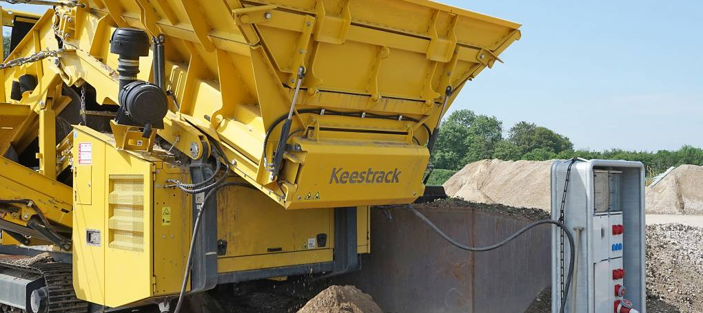 Full electric plug-in Keestrack K5