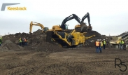 Keestrack R5 impact crusher at 300 t/h