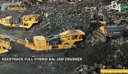 B4e, Keestrack full hybrid jaw crusher