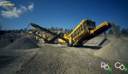 Full plug-in electric driven Keestrack R6e impact crusher and C6e classifier