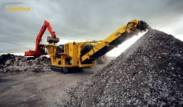 Keestrack B4 Jaw Crusher Recycling Concrete