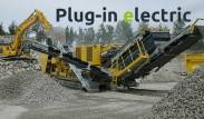 Keestrack R6e plug-in electric drive