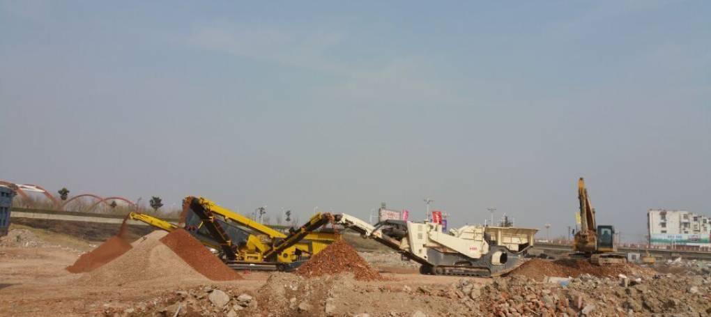 Keestrack C3 Produktionssiebe im Steinbruch