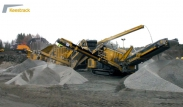 Keestrack B4 jaw crusher, H4 cone crusher and K3 scalper screen