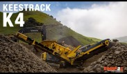 Keestrack K4 Grobstücksiebe walkthrough by Equip2