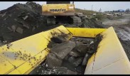 Keestrack R6E Impact Crusher Processing Recycled Concrete and Asphalt